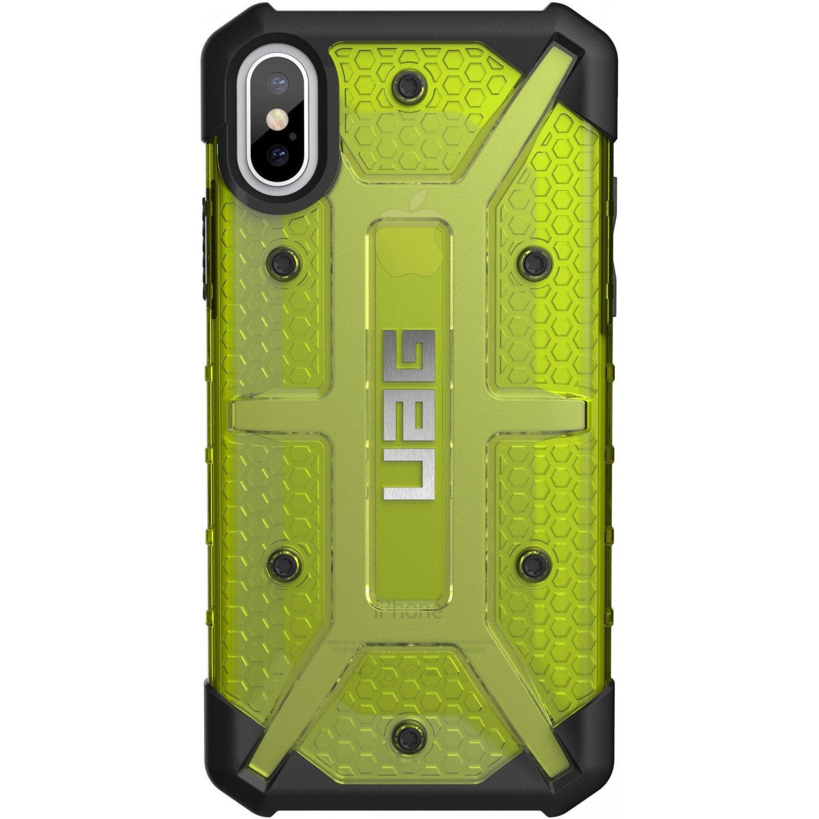 Чехол для моб. телефона Urban Armor Gear iPhone X Plasma Citron (IPHX-L-CT)