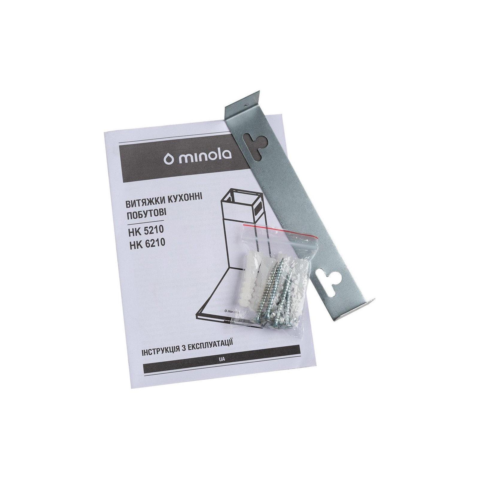 Вытяжка кухонная MINOLA HK 6210 WH 650 изображение 6
