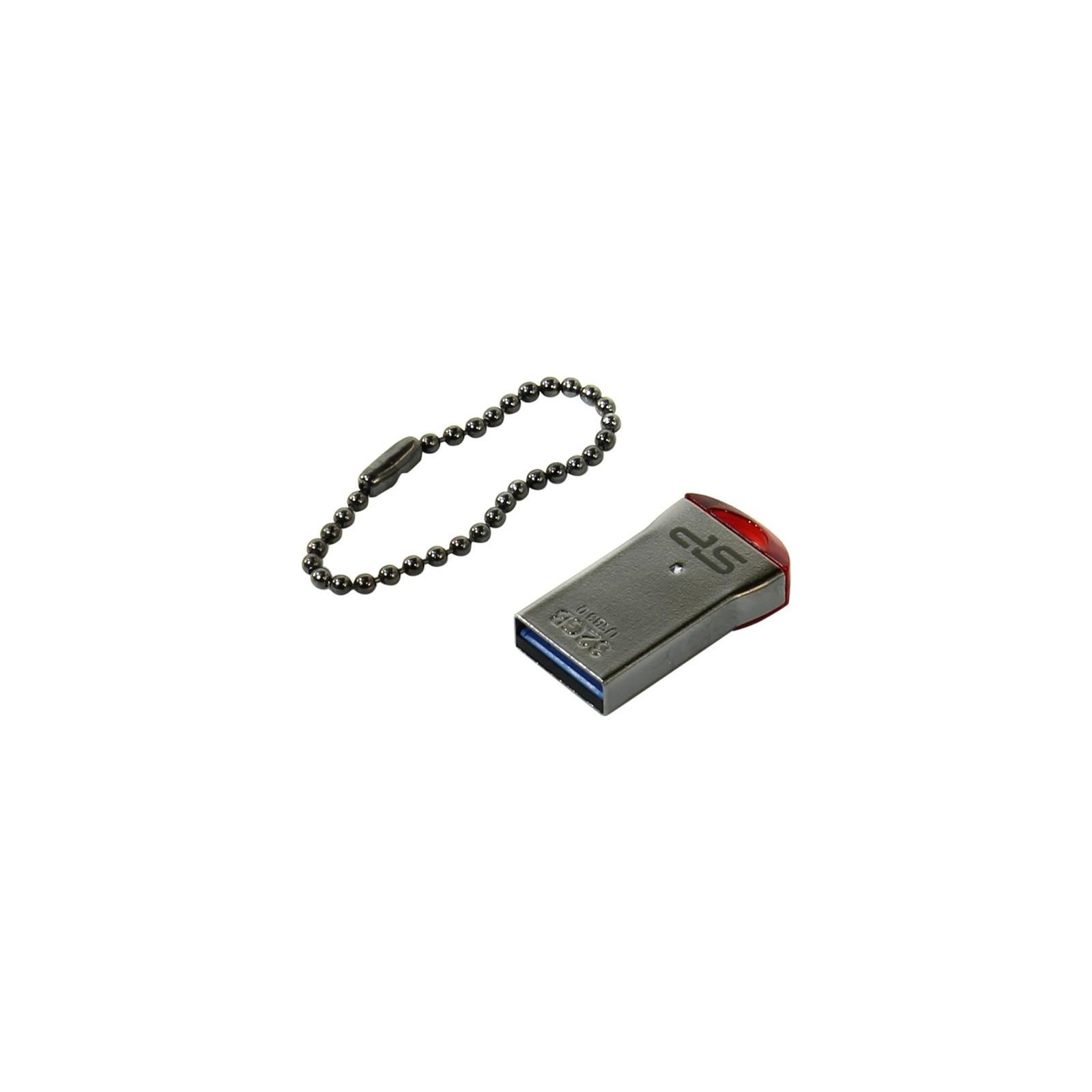 USB флеш накопитель Silicon Power 16GB JEWEL J01 RED USB 3.0 (SP016GBUF3J01V1R) изображение 2