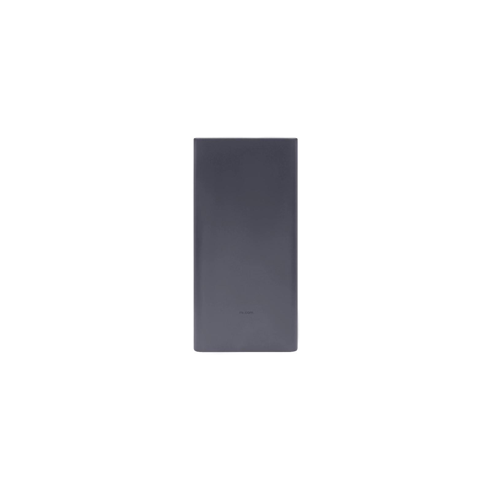 Батарея универсальная Xiaomi Mi Power bank 3 10000mAh QC3.0(Type-C), QC2.0(USB) Black (PLM12ZM-Black) изображение 4