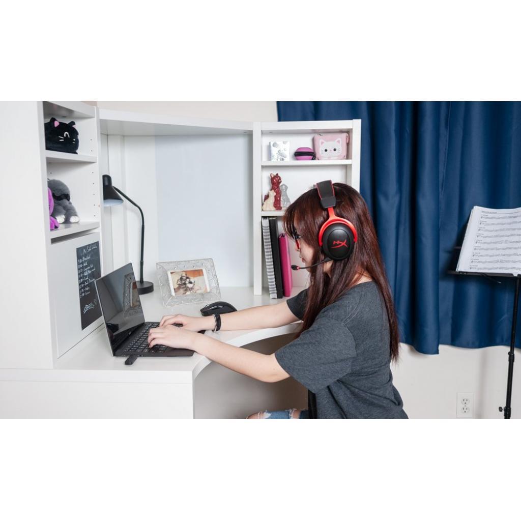 Навушники HyperX Cloud II Wireless Black-red (HHSC2X-BA-RD/G) зображення 11
