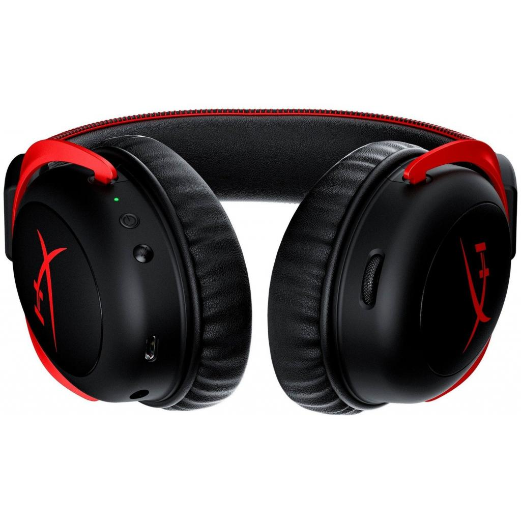 Навушники HyperX Cloud II Wireless Black-red (HHSC2X-BA-RD/G) зображення 4
