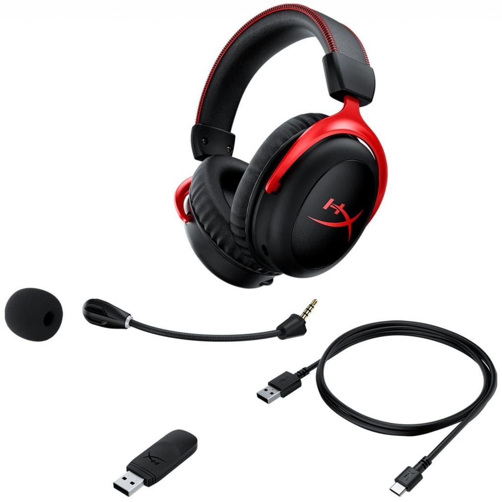 Навушники HyperX Cloud II Wireless Black-red (HHSC2X-BA-RD/G) зображення 6