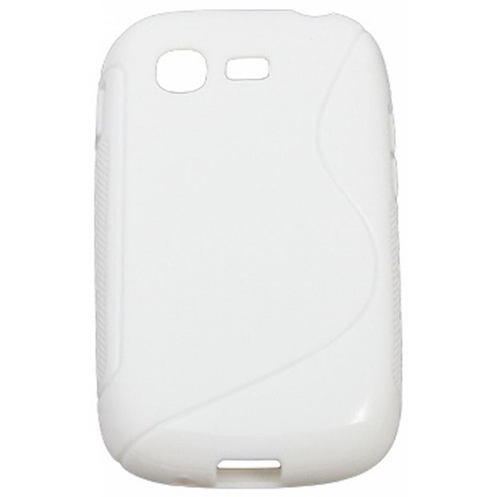 Чехол для моб. телефона Drobak для Samsung S5312 Galaxy Pocket Neo /Elastic PU/White (218986)