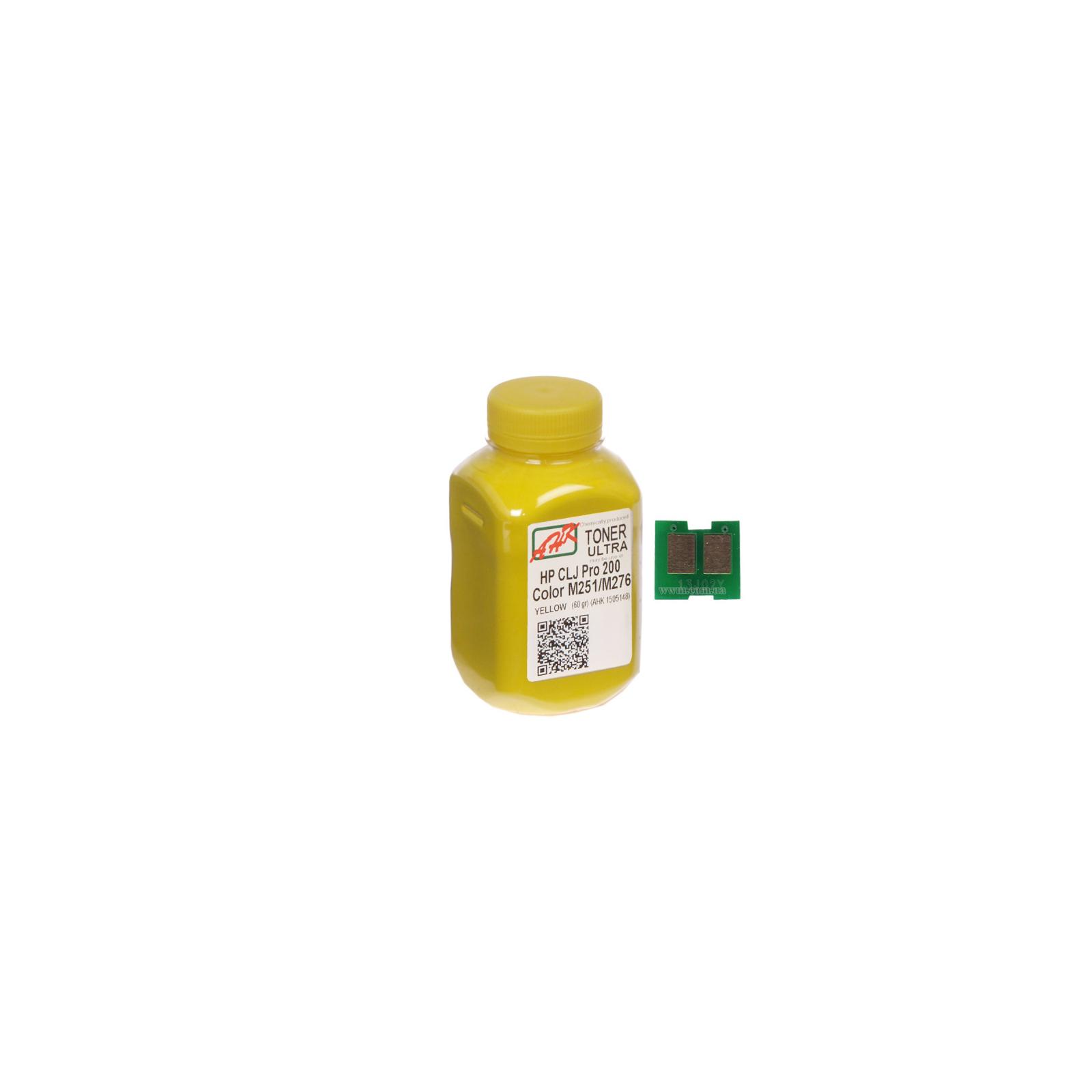 Тонер AHK HP CLJ Pro 200/M251/M276n (131A) Yellow+chip (1505160)