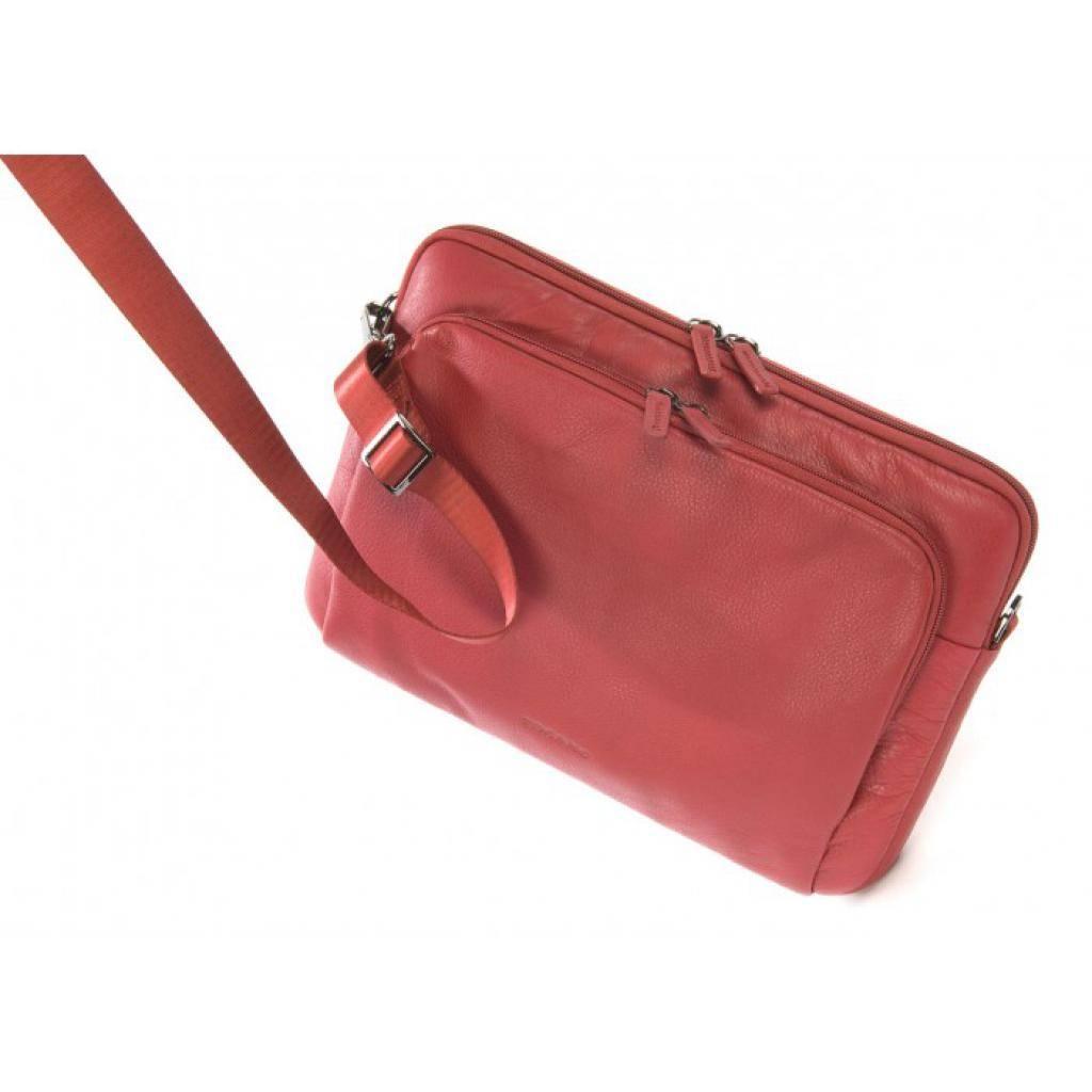 "Сумка для ноутбука Tucano 13"" One Premium sleeve/Red (BFOP13-R) изображение 10"