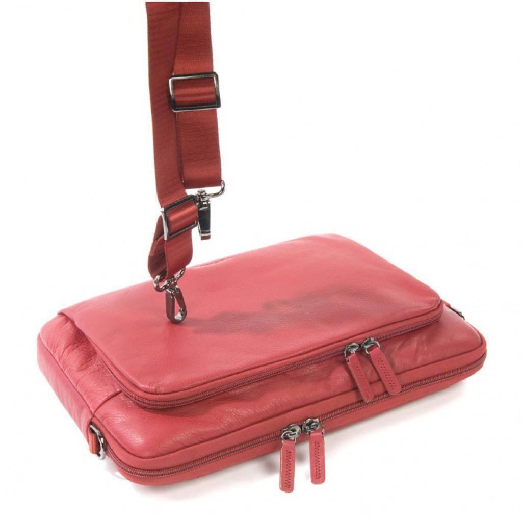 "Сумка для ноутбука Tucano 13"" One Premium sleeve/Red (BFOP13-R) изображение 11"