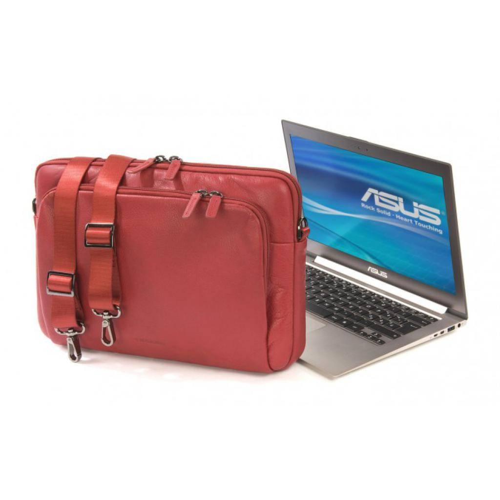 "Сумка для ноутбука Tucano 13"" One Premium sleeve/Red (BFOP13-R) изображение 12"