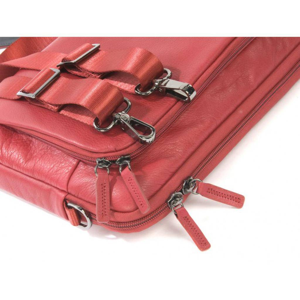 "Сумка для ноутбука Tucano 13"" One Premium sleeve/Red (BFOP13-R) изображение 13"