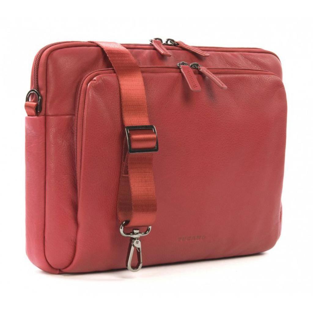 "Сумка для ноутбука Tucano 13"" One Premium sleeve/Red (BFOP13-R) изображение 2"