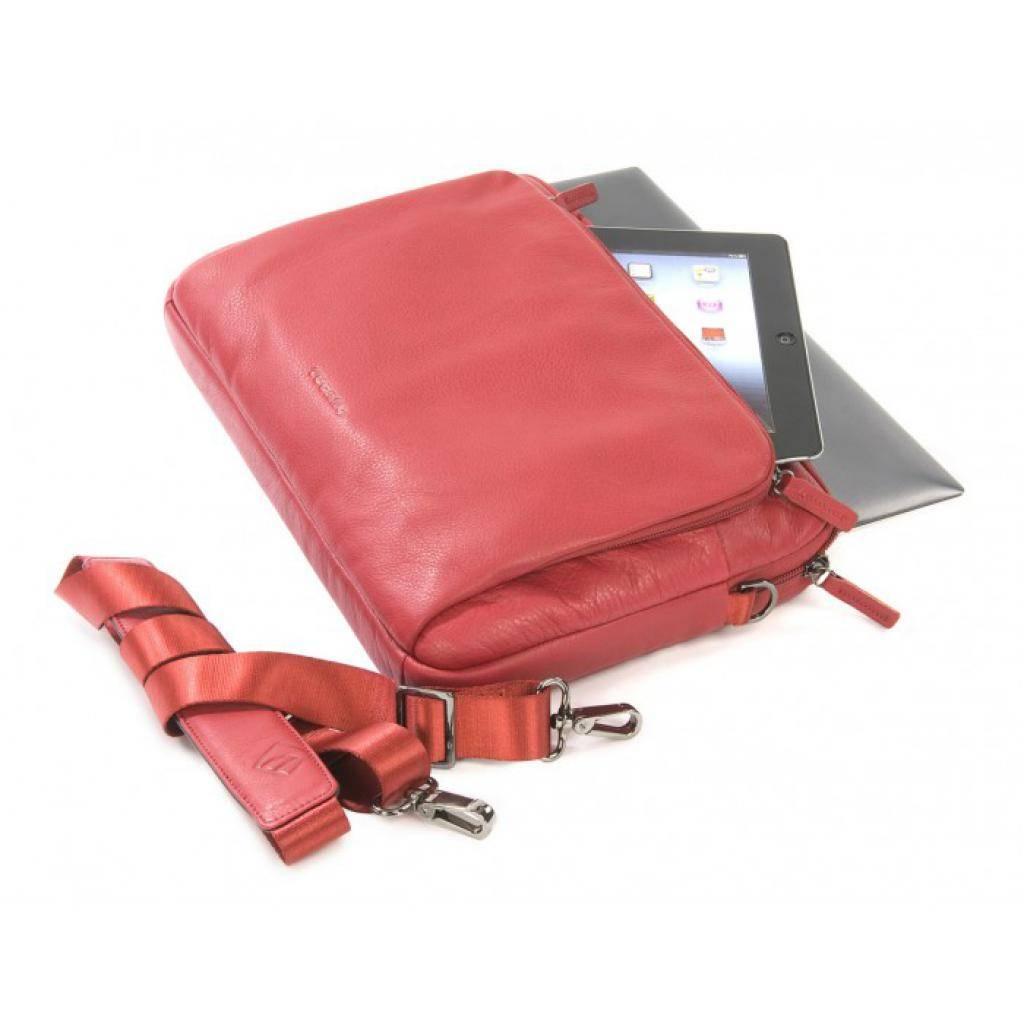 "Сумка для ноутбука Tucano 13"" One Premium sleeve/Red (BFOP13-R) изображение 3"