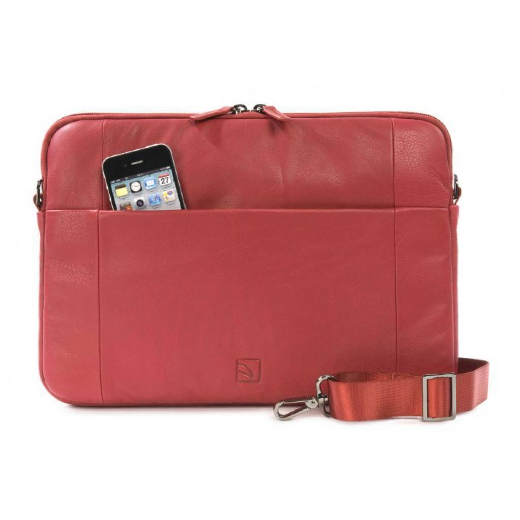 "Сумка для ноутбука Tucano 13"" One Premium sleeve/Red (BFOP13-R) изображение 4"