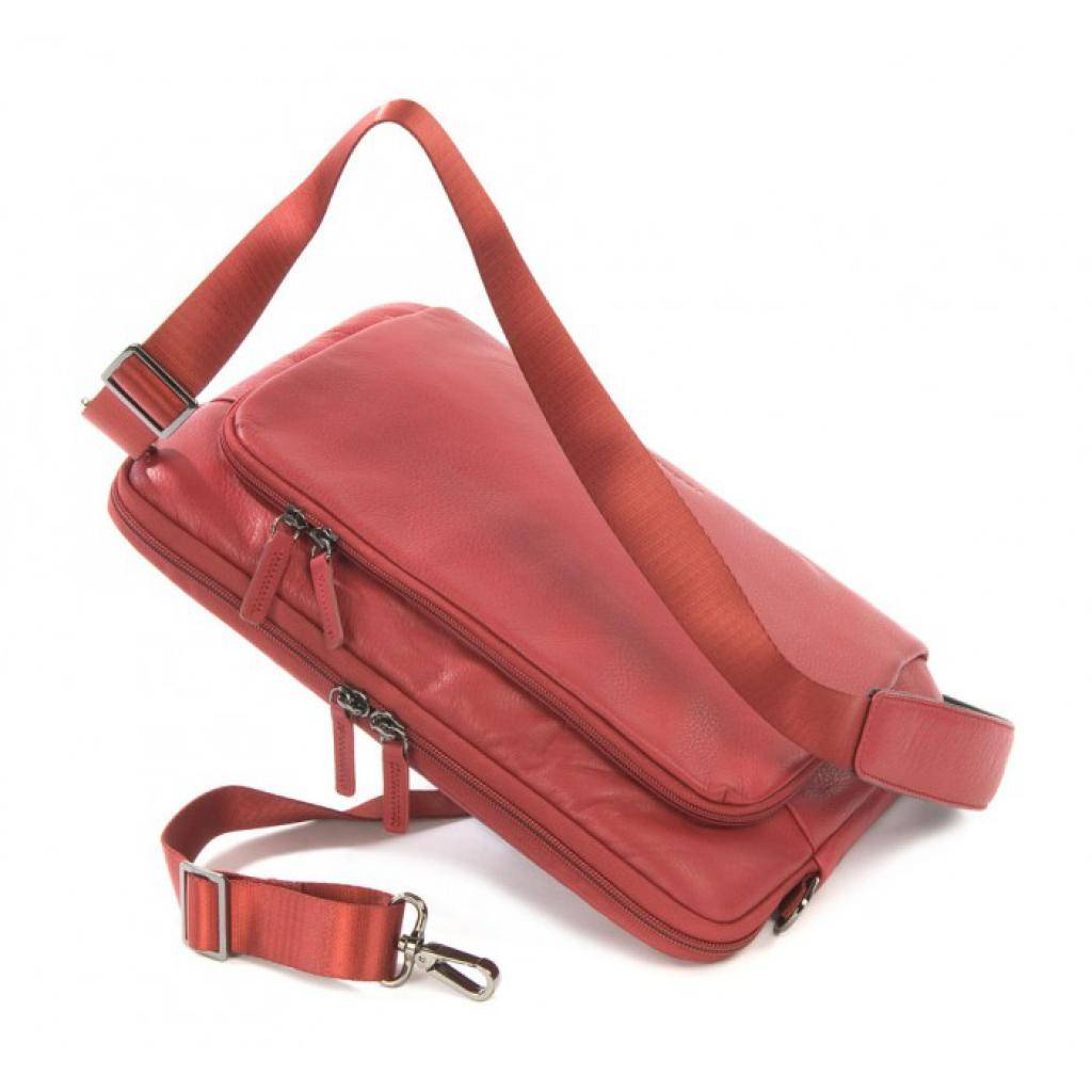 "Сумка для ноутбука Tucano 13"" One Premium sleeve/Red (BFOP13-R) изображение 5"