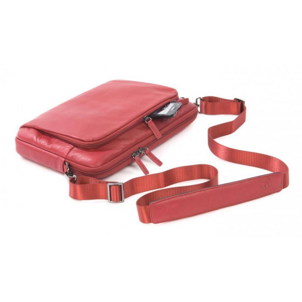 "Сумка для ноутбука Tucano 13"" One Premium sleeve/Red (BFOP13-R) изображение 6"