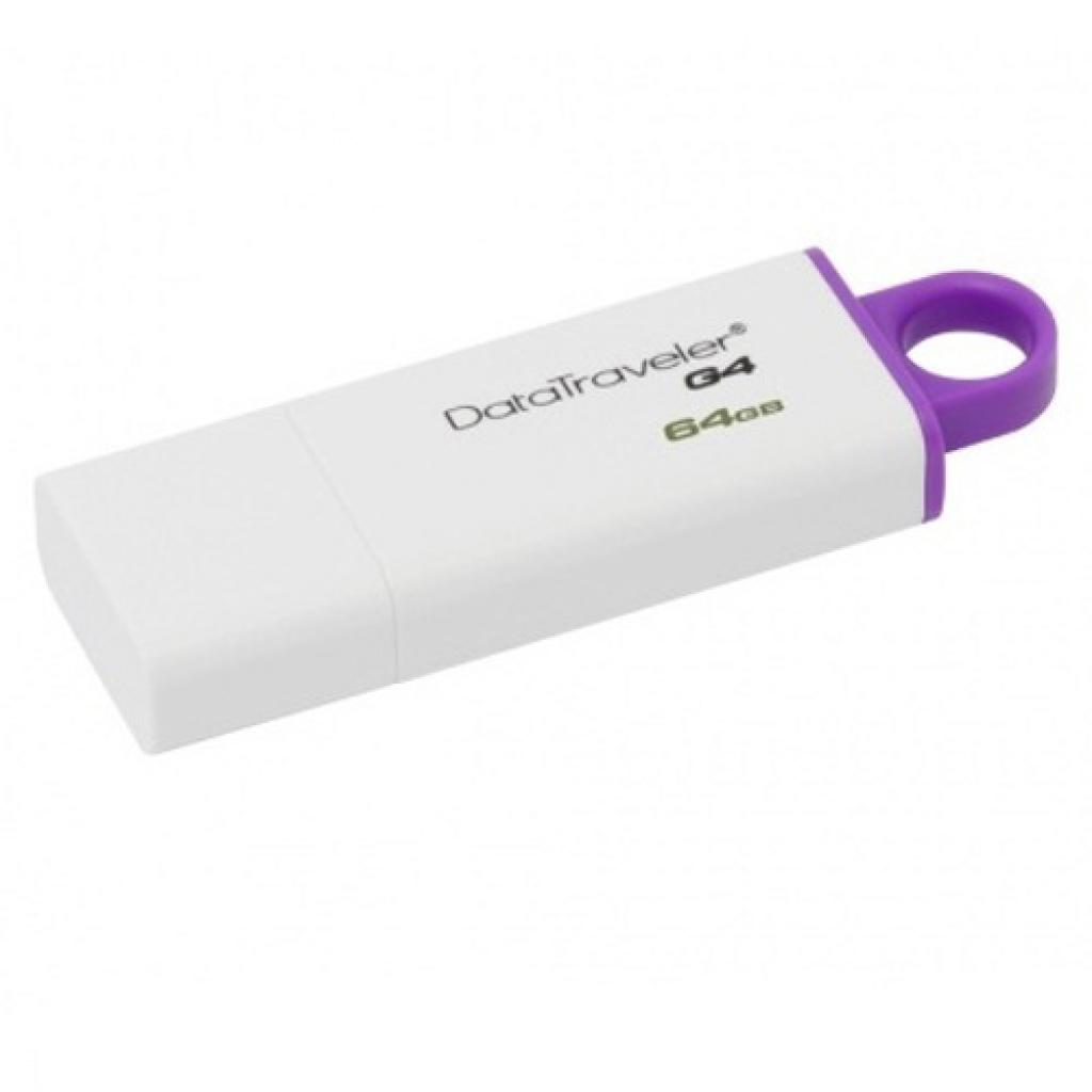 USB флеш накопитель Kingston 64Gb DataTraveler Generation 4 (DTIG4/64GB) изображение 2