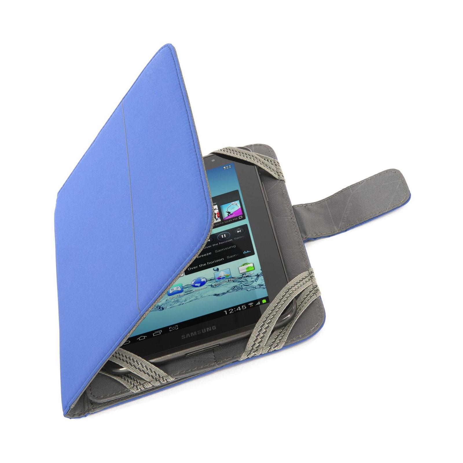 "Чехол для планшета Tucano 7"" Facile Stand Blue (TAB-FA7-B) изображение 5"