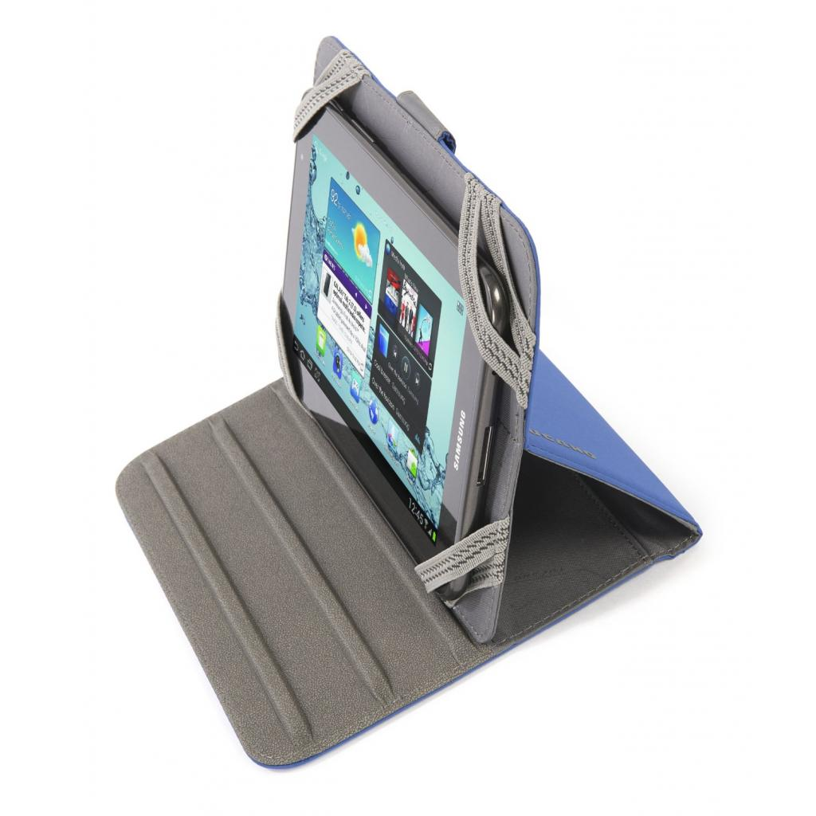 "Чехол для планшета Tucano 7"" Facile Stand Blue (TAB-FA7-B) изображение 7"