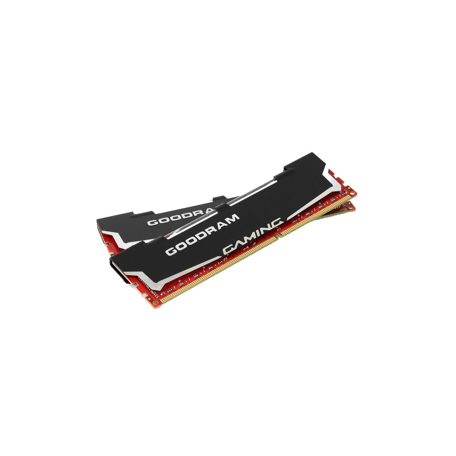Модуль памяти для компьютера DDR3 8Gb (2x4GB) 1600 MHz Led Gaming GOODRAM (GL1600D364L9/8GDC) изображение 2