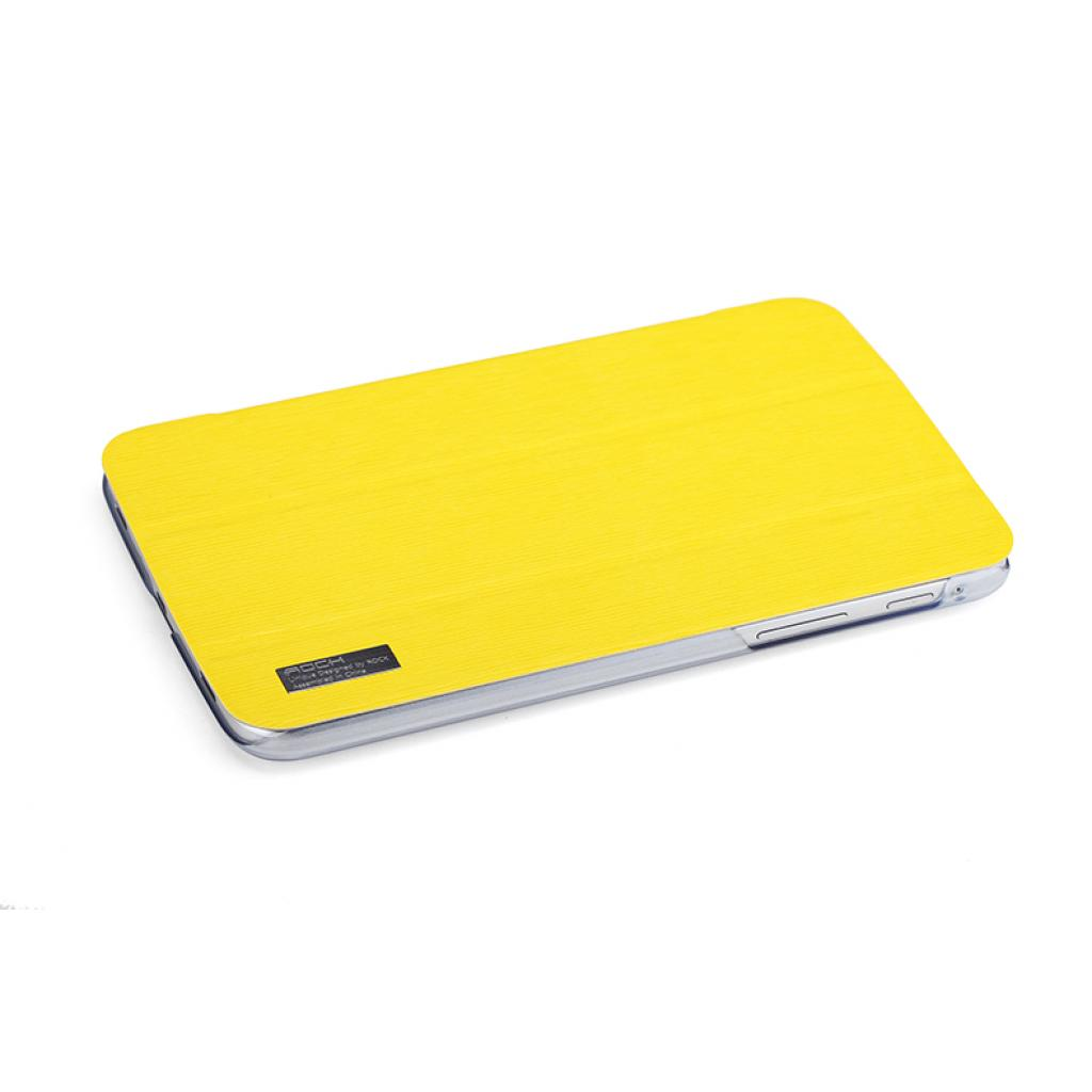 "Чехол для планшета Rock Samsung Galaxy Tab3 7"" new elegant series lemon yellow (T2100-31870) изображение 4"