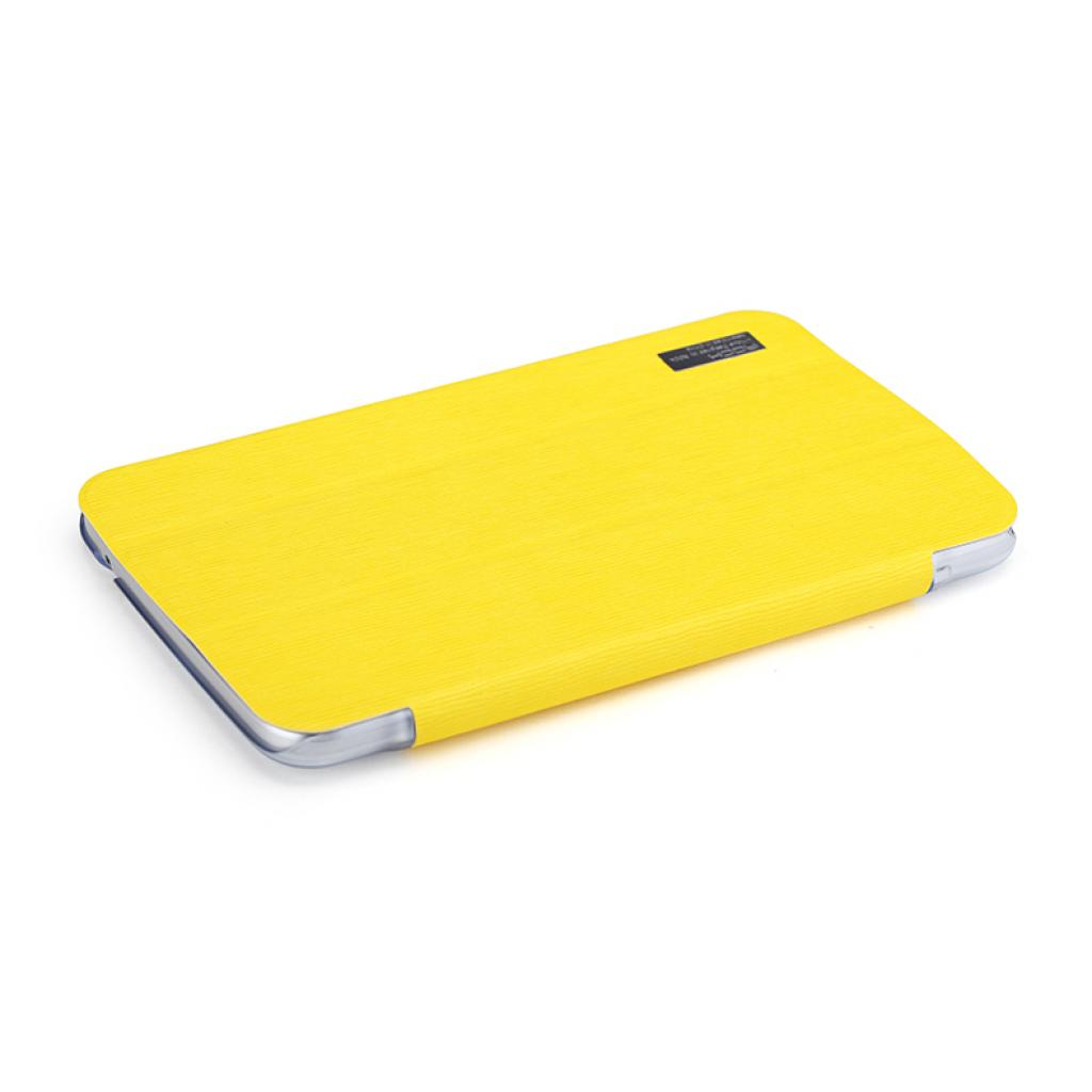 "Чехол для планшета Rock Samsung Galaxy Tab3 7"" new elegant series lemon yellow (T2100-31870) изображение 5"