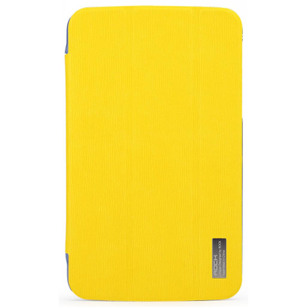 "Чехол для планшета Rock Samsung Galaxy Tab3 7"" new elegant series lemon yellow (T2100-31870)"