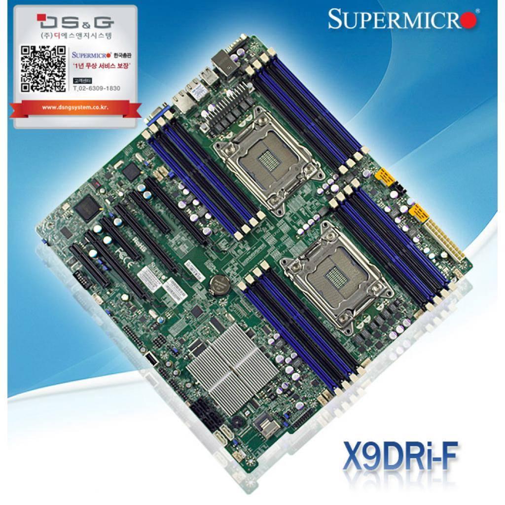 Серверная МП Supermicro MBD-X9DRI-F-B изображение 6