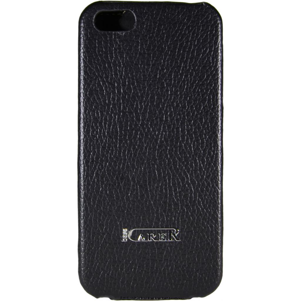 Чехол для моб. телефона Carer Base для iPhone 5/5S black grid (i-Carer iPhone 5/5S grid) изображение 2
