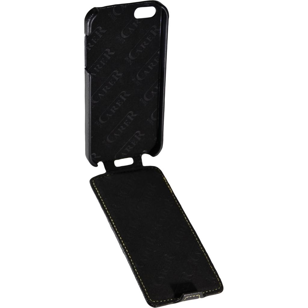 Чехол для моб. телефона Carer Base для iPhone 5/5S black grid (i-Carer iPhone 5/5S grid) изображение 3
