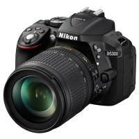 Цифровой фотоаппарат Nikon D5300 KIT AF-S DX 18-105 VR (VBA370KV04)