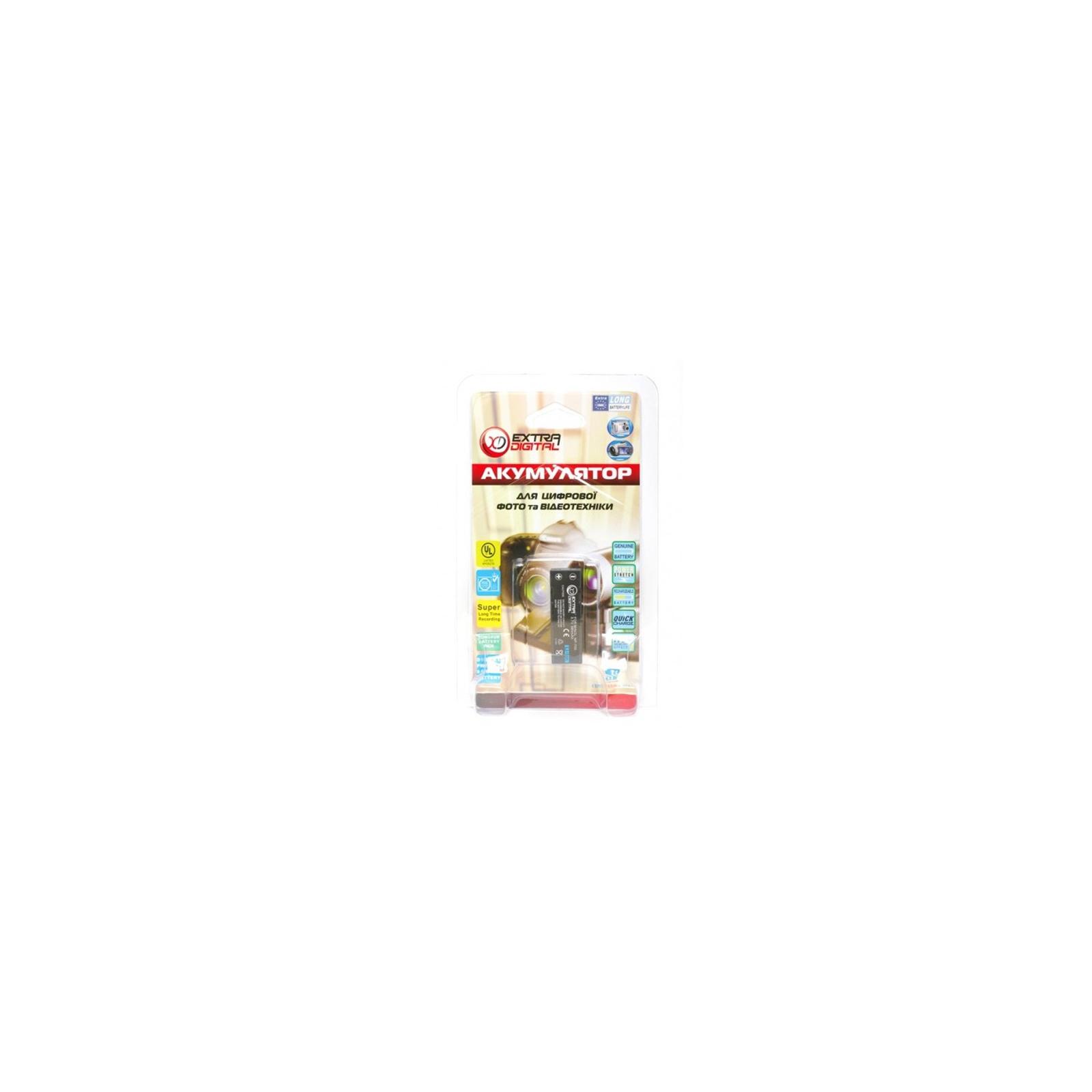 Аккумулятор к фото/видео EXTRADIGITAL Minolta NP-700, SLB-0637, DB-L30, D-LI72 (DV00DV1055) изображение 3