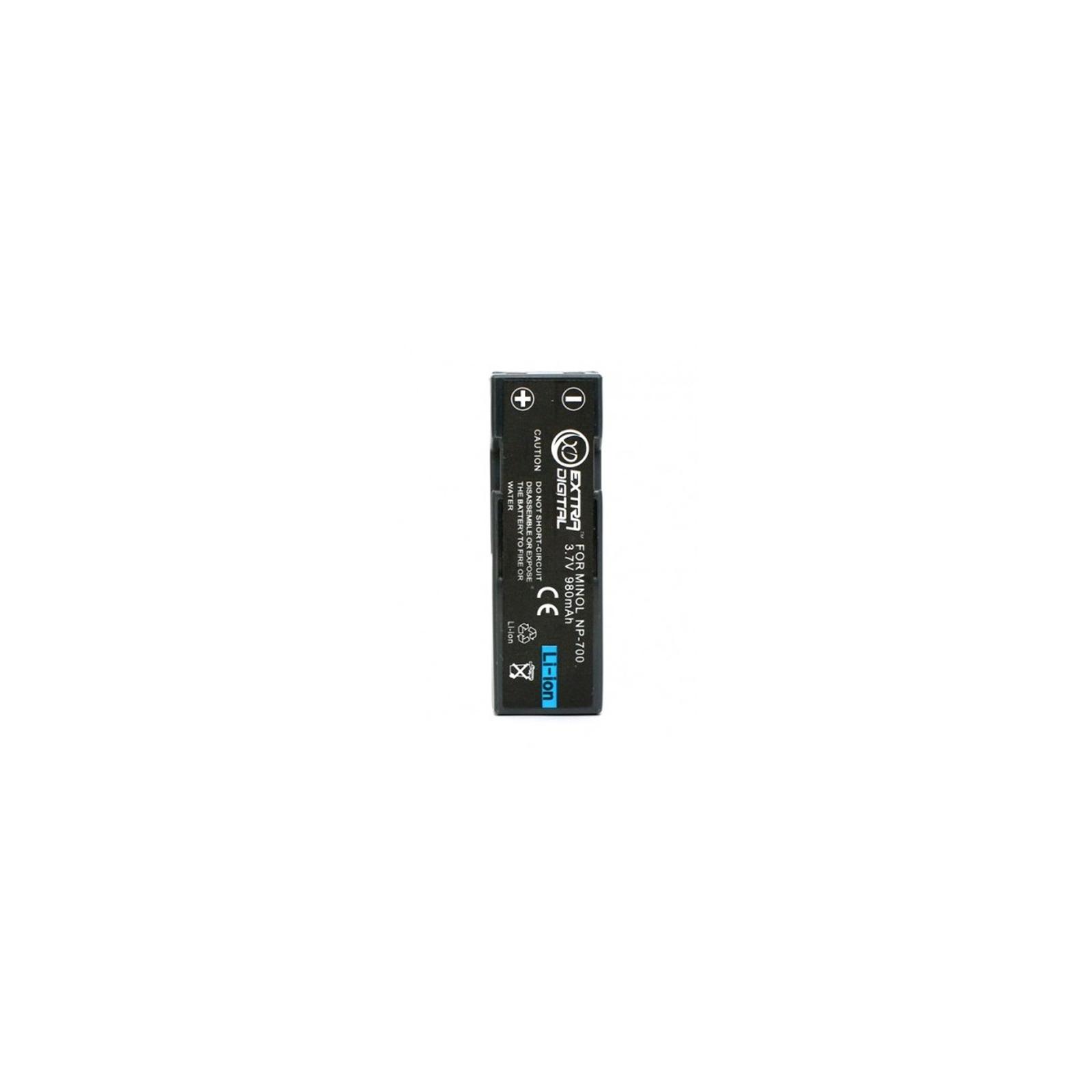 Аккумулятор к фото/видео EXTRADIGITAL Minolta NP-700, SLB-0637, DB-L30, D-LI72 (DV00DV1055)