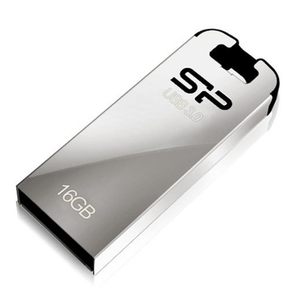 USB флеш накопитель Silicon Power 16GB Jewel J10 Black USB 3.0 (SP016GBUF3J10V3K)