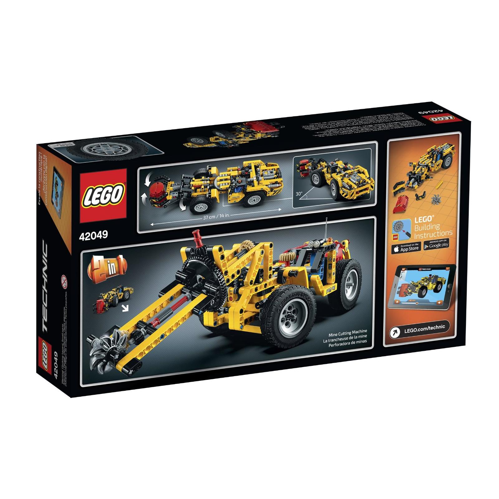 Конструктор LEGO Technic Карьерный погрузчик (42049) изображение 8