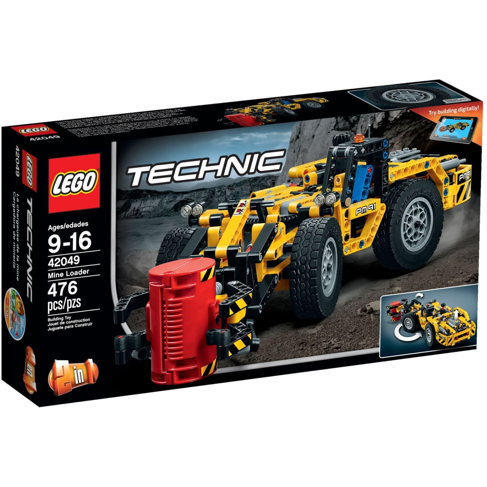 Конструктор LEGO Technic Карьерный погрузчик (42049)