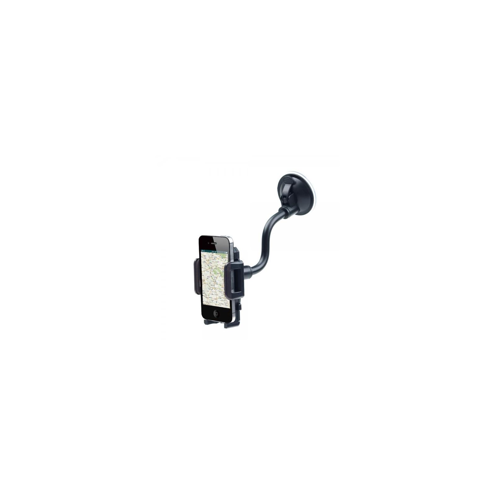Универсальный автодержатель GEMBIRD для телефона, крепление на стекло (TA-CHW-02) изображение 6