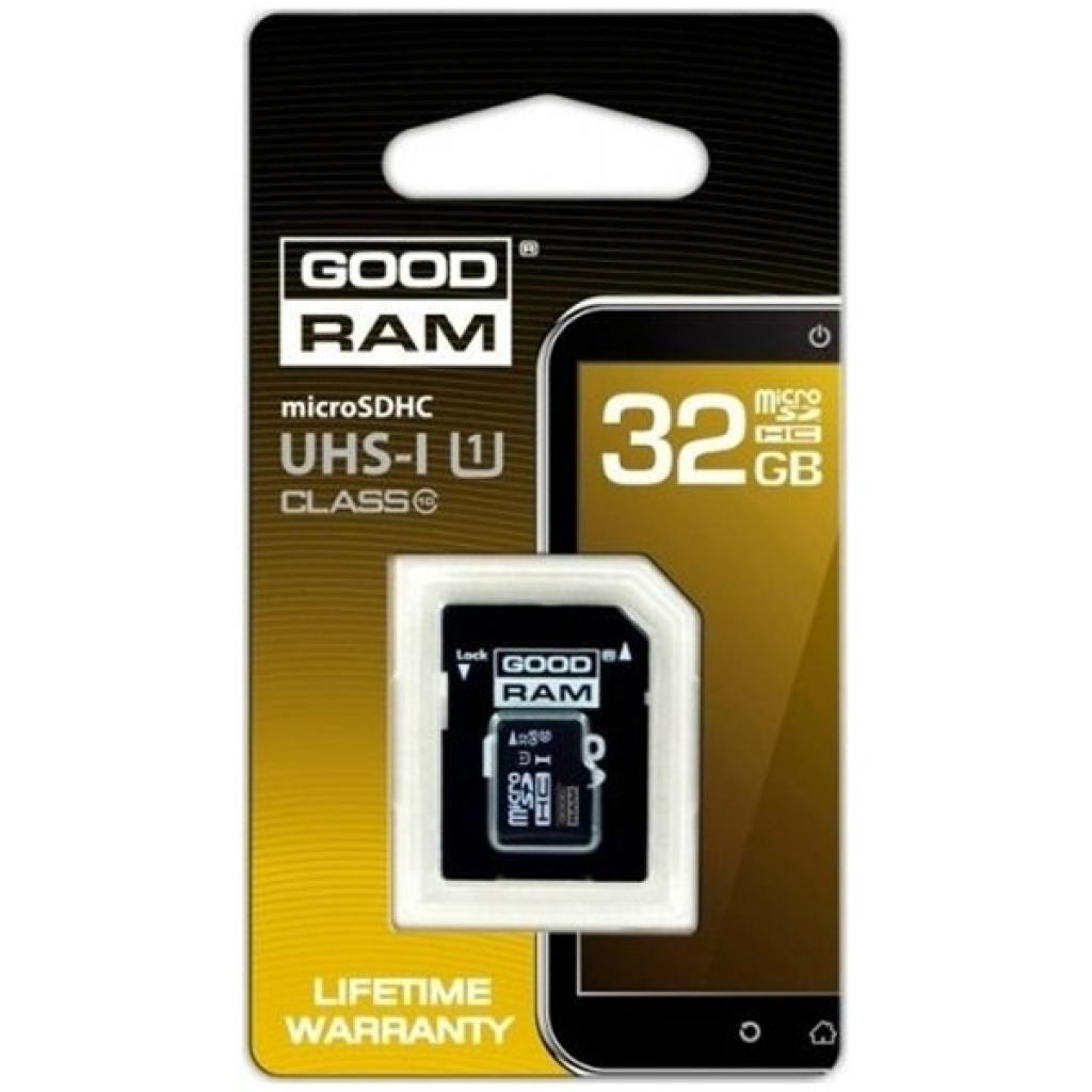 Карта памяти GOODRAM 32GB microSDHC Class 10 (M1AA-0320R11) изображение 2