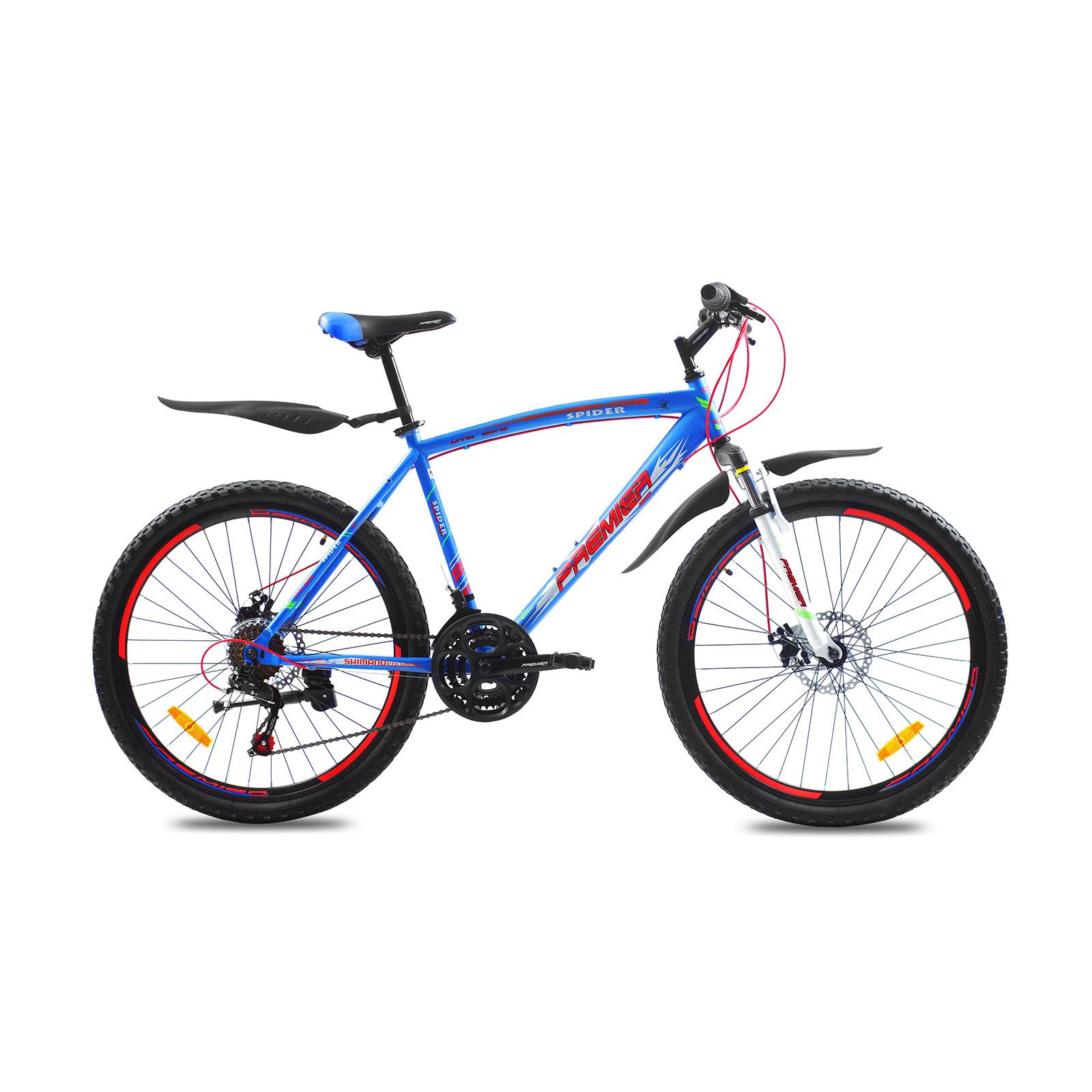 """Велосипед Premier Spider 26 Disc 19"""" matt neon blue (SP0001475)"""