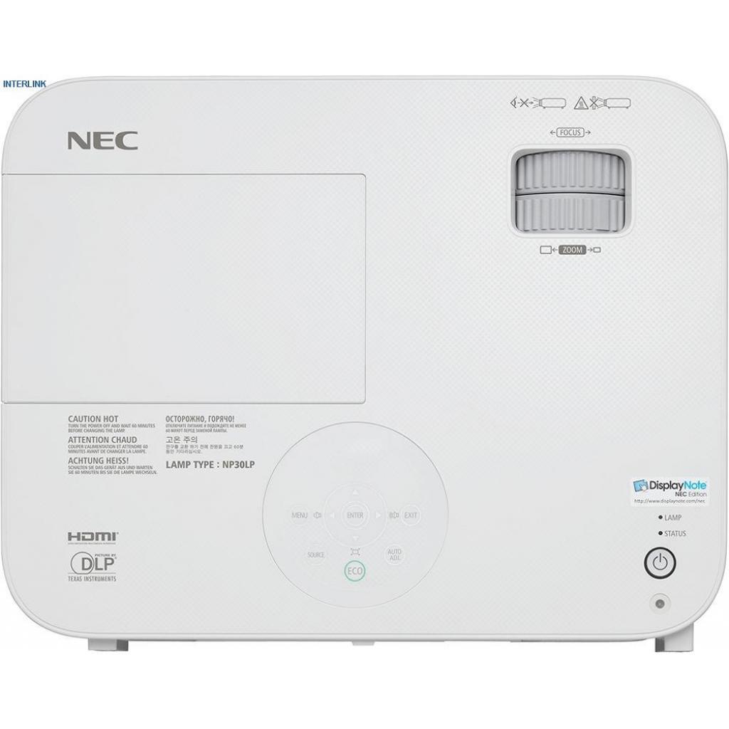 Проектор NEC M322H (60003888) изображение 7