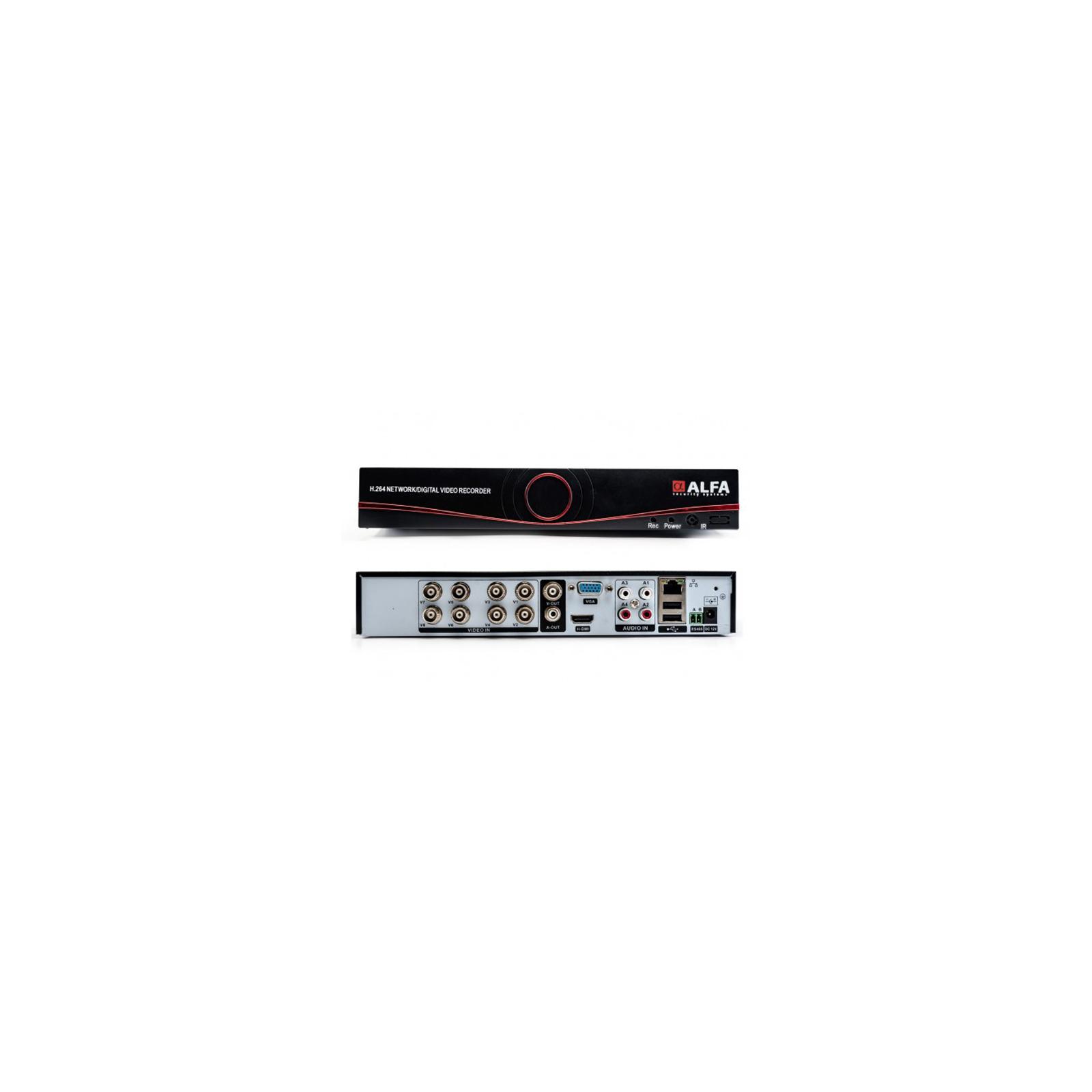 Регистратор для видеонаблюдения ALFA D6308S изображение 3