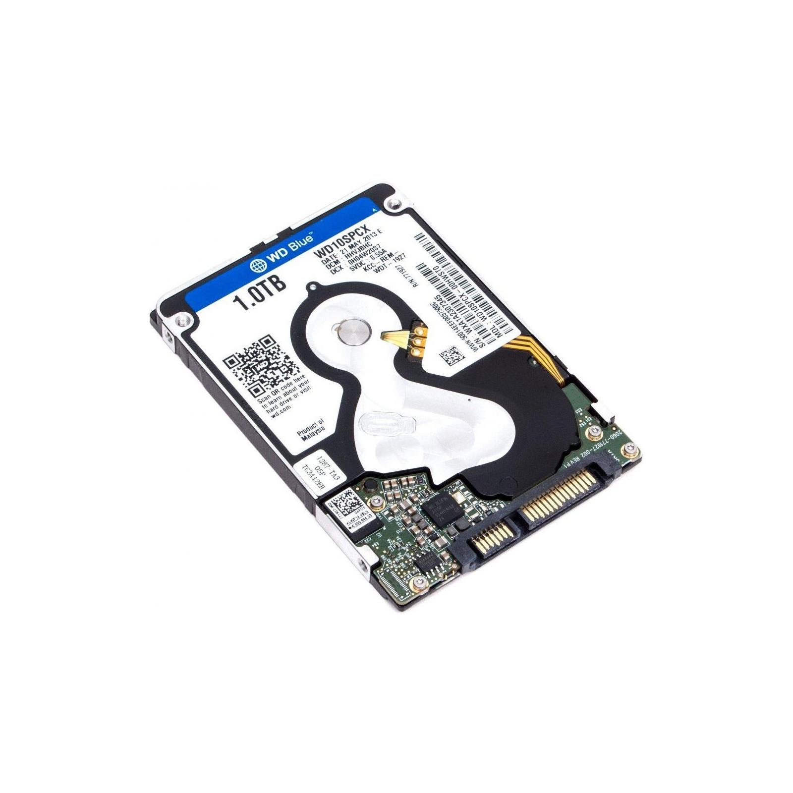 """Жесткий диск для ноутбука 2.5"""" 1TB Western Digital (WD10SPCX) изображение 2"""