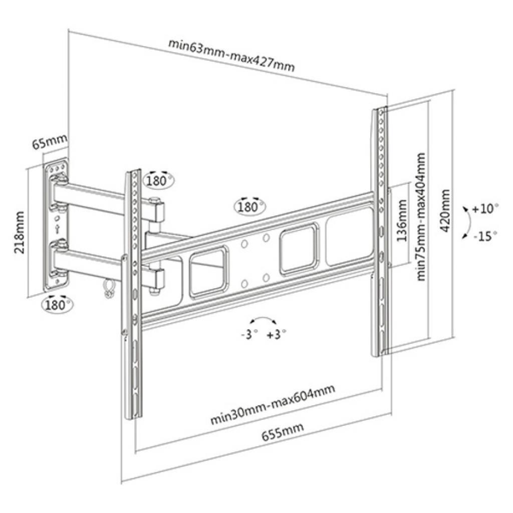 Кронштейн BRATECK LPA52-463 изображение 2