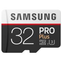 Карта памяти Samsung 32GB microSD class 10 PRO PLUS UHS-I G3 (MB-MD32GA/RU)