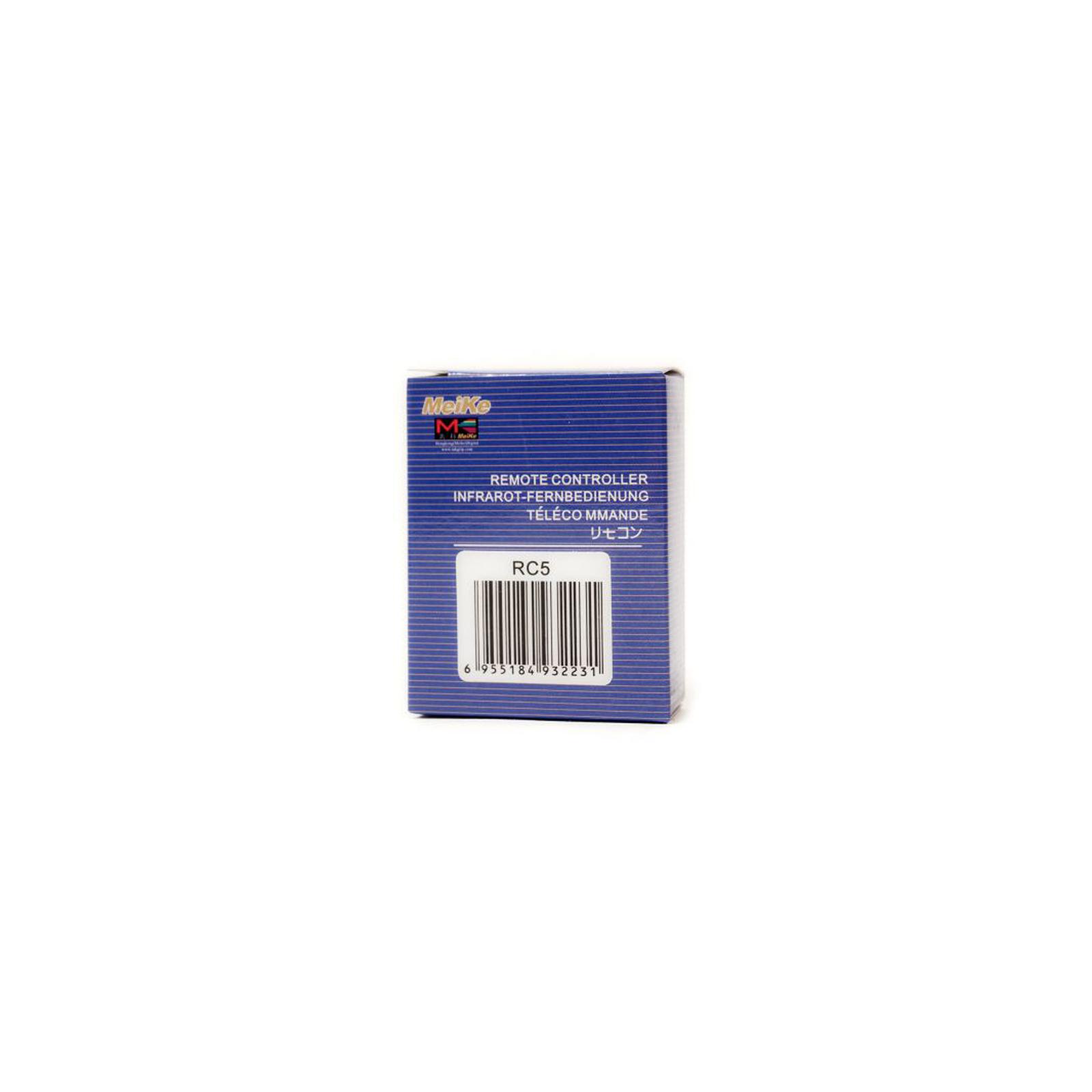 Пульт ДУ для фото- видеокамер Meike Canon MK-RC5 (RT960019) изображение 3