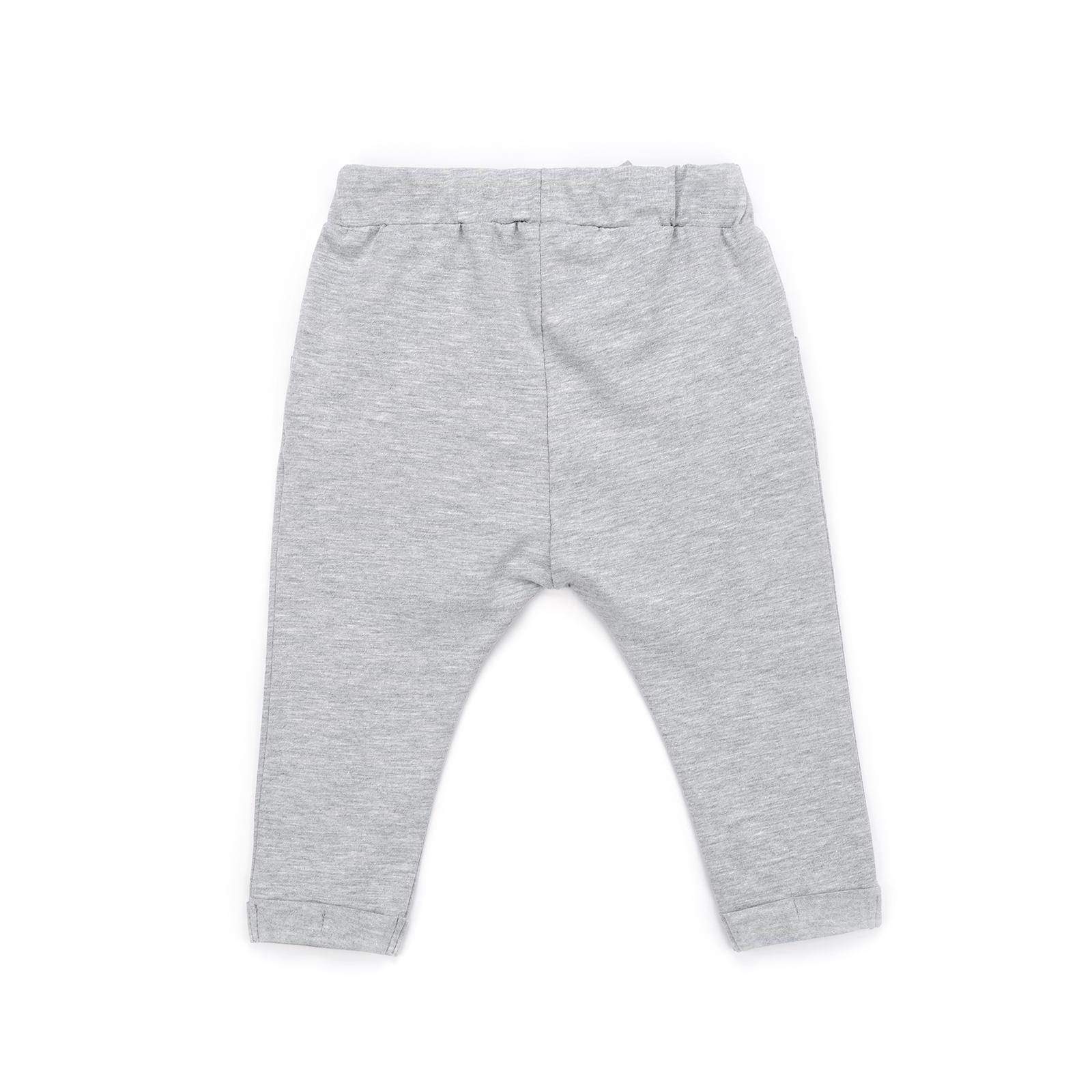 Штаны детские Breeze с бантом (10704-98G-gray) изображение 2
