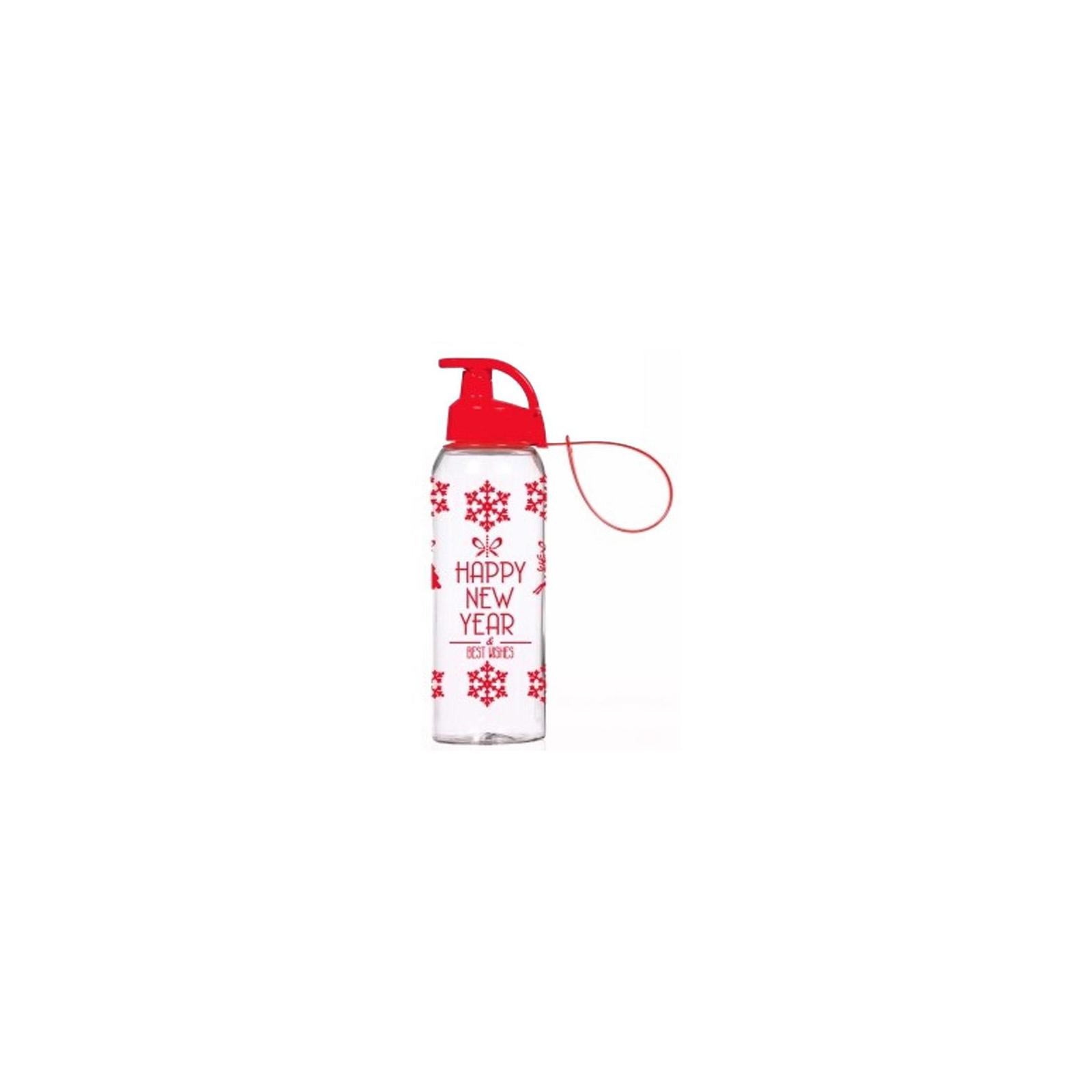 Бутылка для воды Herevin Happy New Year 0.5 л (161415-836)