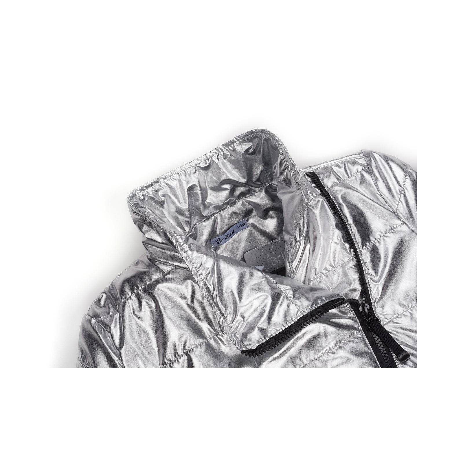 Куртка Brilliant демисезонная (1001-152G-silver) изображение 3