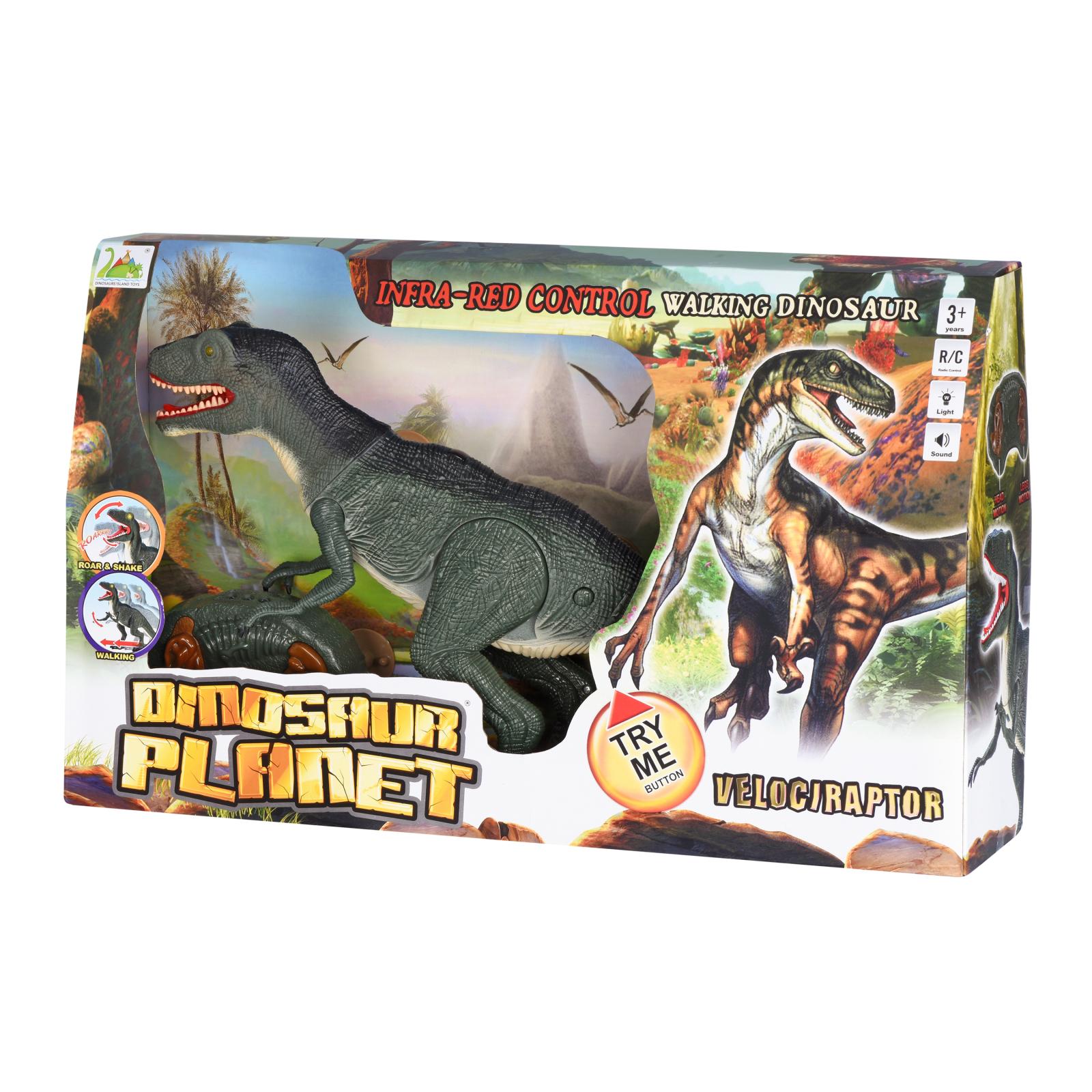 Интерактивная игрушка Same Toy Динозавр Dinosaur Planet серый со светом и звуком (RS6134Ut) изображение 11