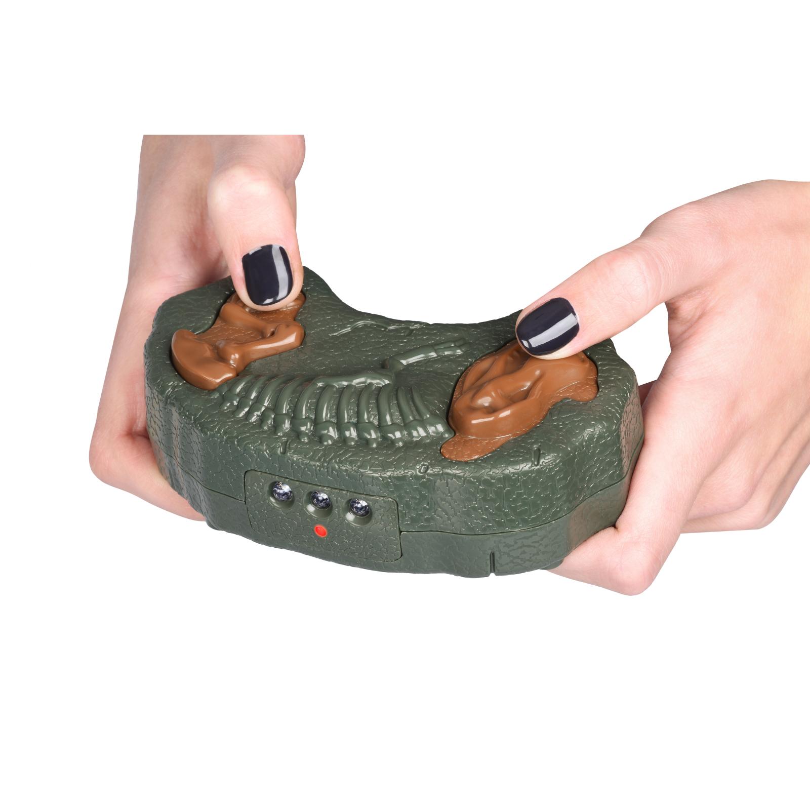 Интерактивная игрушка Same Toy Динозавр Dinosaur Planet серый со светом и звуком (RS6134Ut) изображение 2