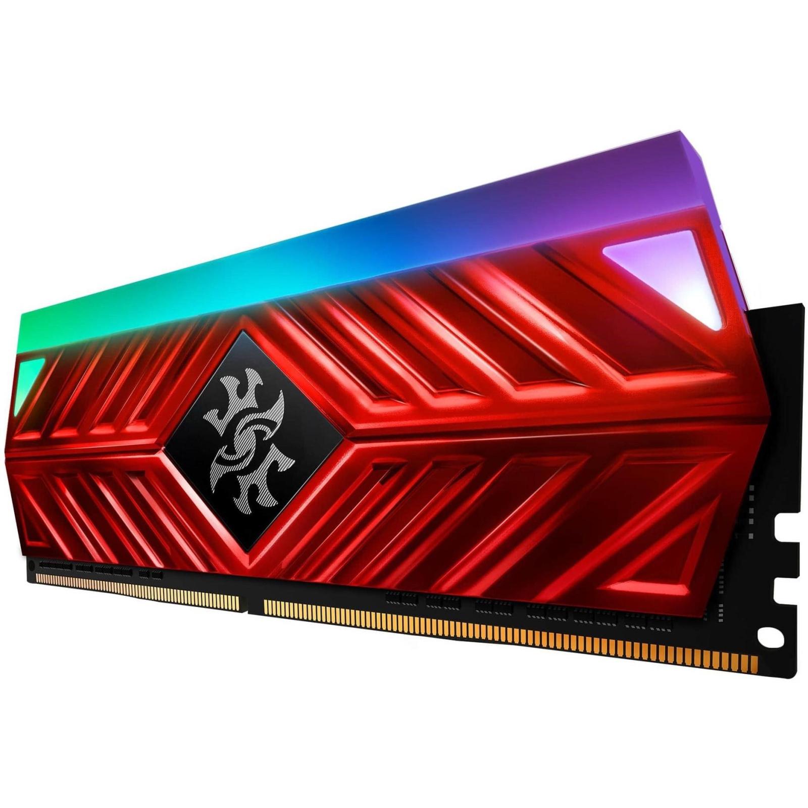 Модуль памяти для компьютера DDR4 8GB 3000 MHz XPG Spectrix D41 Red ADATA (AX4U300038G16-SR41) изображение 3