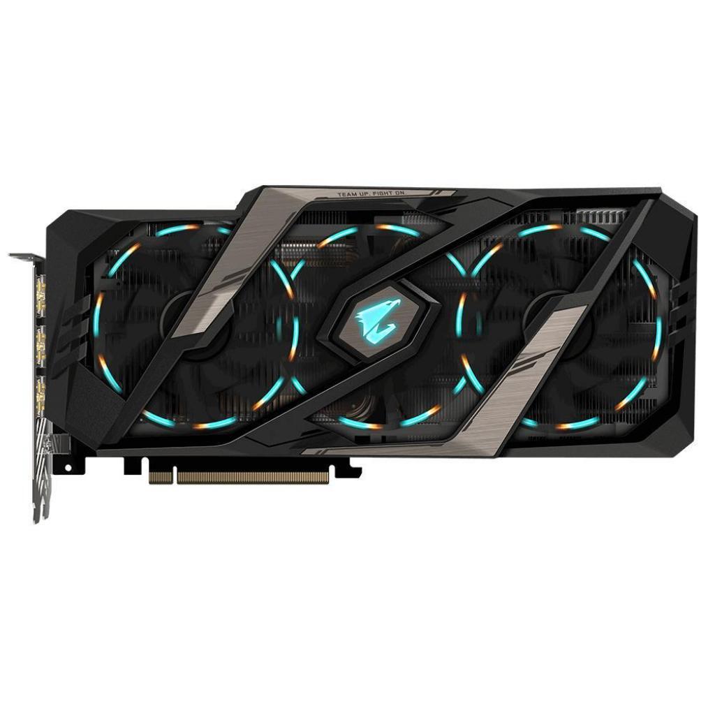 Видеокарта GIGABYTE GeForce RTX2080 Ti 11Gb AORUS (GV-N208TAORUS-11GC) изображение 2